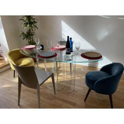 Table en verre Luxor - Design Rodolfo Dordoni- Edition exclusive FIAM