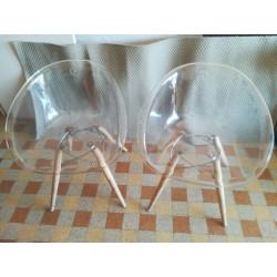 2 Chaises GLISS WOOD 905, Pedrali