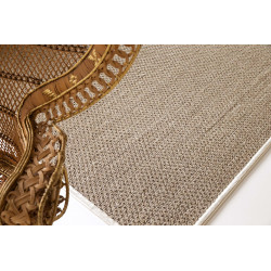 Zoulou silver / gray carpet 0.95cm x 1.75cm -Limited Edition