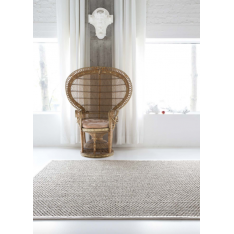 Tapis argent/ gris 1,5 x 2,5 Zoulou Limited Edition