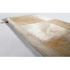 Tapis Pinto 40 2,48m x 2,48m en couleur sable Limited Edition